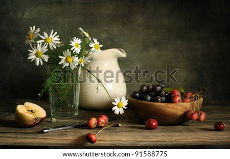 Still life with rennet