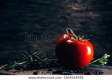 Still life with tomatoes. Still life.