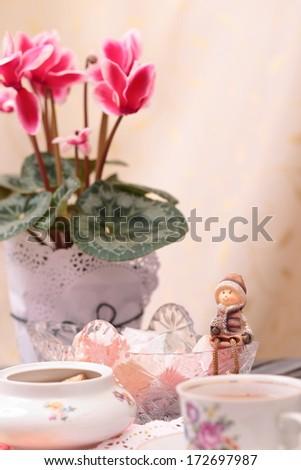 Free Photos Birthday Card With Pink Flowershappy Birthdayturkish