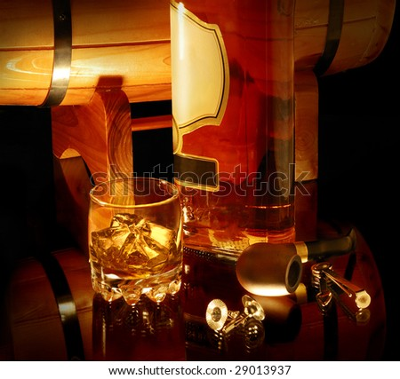 still life with whisky and pipe. Look for more in MY PORTFOLIO