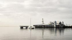 Still water Cunningham Pier Geelong
