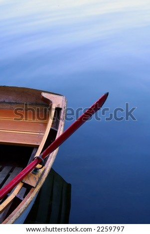 Still water rowboat