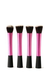 stippling and buffing brushes for applying makeup