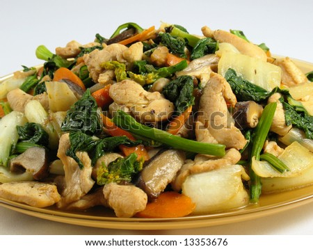 Stir-Fried Chicken & Vegetables