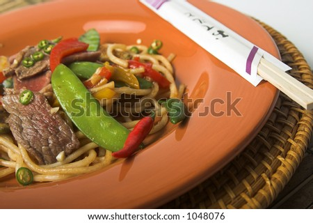stirfry with beef