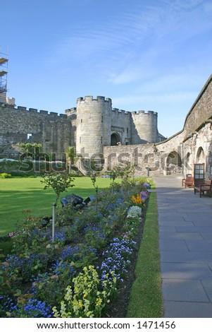 Stirling Castle in Scotland UK