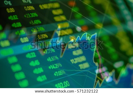 Stock Exchange Board Background #571232122