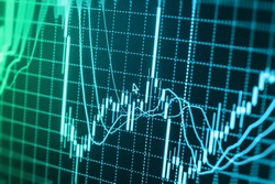 Stock exchange graph screen background figures forex company management investor commerce dollar graph risk sell finance accounting economics planning diagram wealth business bar earnings