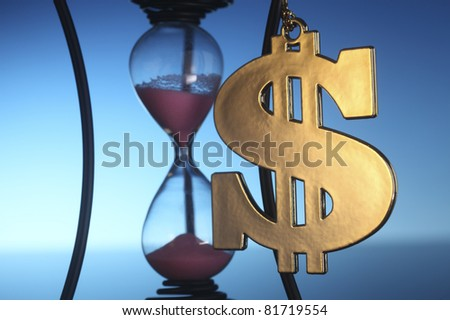 stock image of concept time is money
