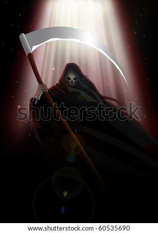 Stock image of Grim Reaper