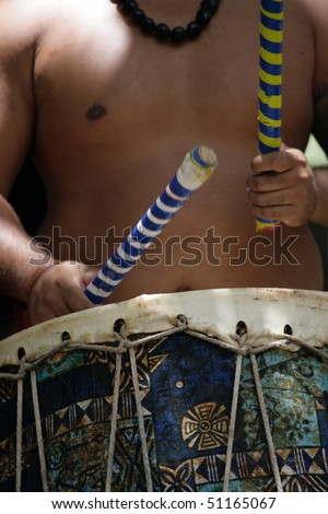 Stock image of polynesia culture, dance, festival and arts