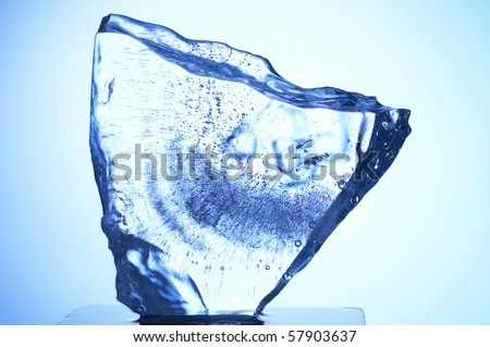 stock image of the ice texture