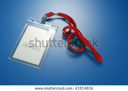 stock image of the pass acess