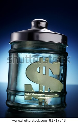 stock image of the saving concept
