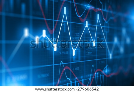 Stock Market Chart  Background