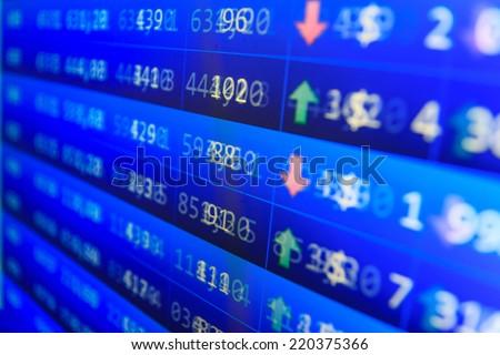 Stock market chart on green background. Live online screen. Stock market finance graph. Stock exchange market. Professional bank broker workstation. Graph background. Forex trade.