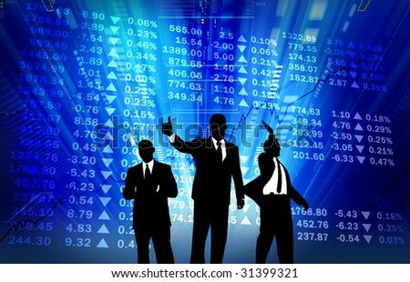 stock market go up