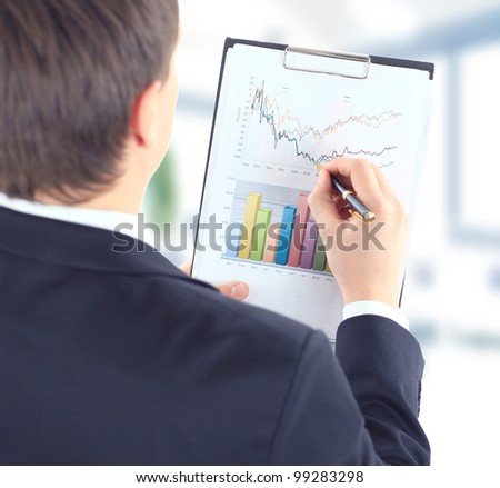 Stock market graphs monitoring