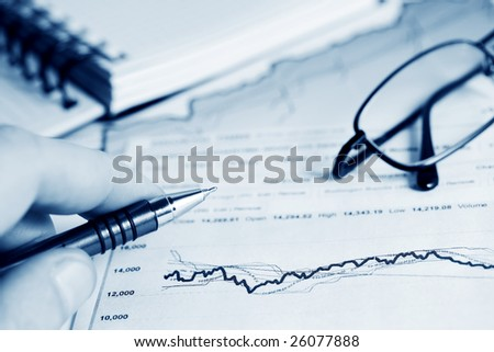 Stock market reports.