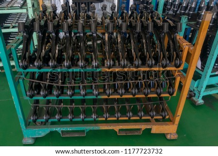 Stock of automotive parts, Vehicle parts, Storage #1177723732