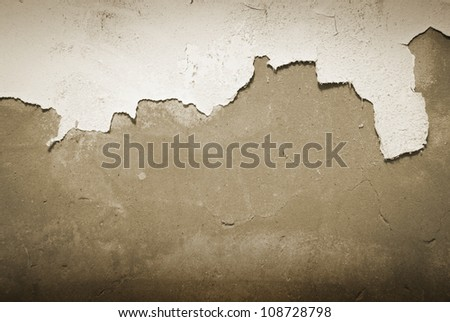 Stock Photo: Old wall. Texture Background