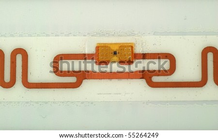 stock pictures of different types of tags for RFID purposes