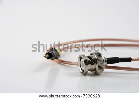 Stock pictures of electronic probes used in oscilloscopes to measure and visualize signal