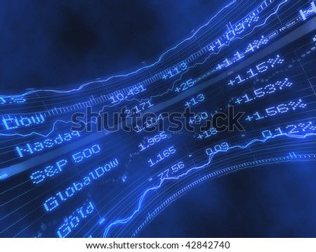 Stock Ticker Abstract