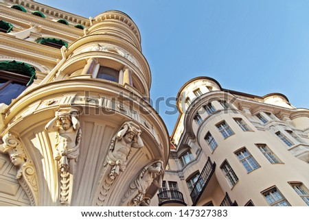 Stockholm.  Architectural details of the city  #147327383