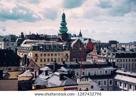 Stockholm city Sweden