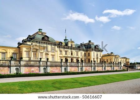 Stockholm, Drottningholm Palace. Sweden