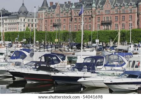Stockholm midtown marina
