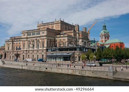 Stockholm royal opera house