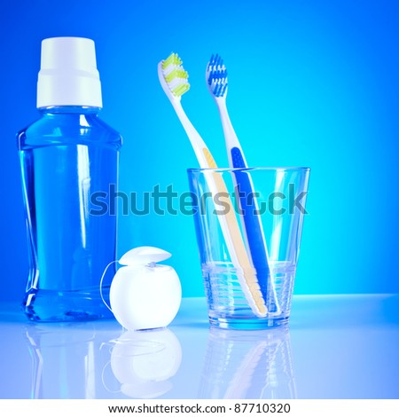 stomatology equipment and dental care