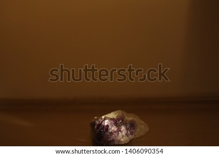 stone amethyst light painting photography technique