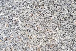 stone background, dark gravel pebbles stone texture