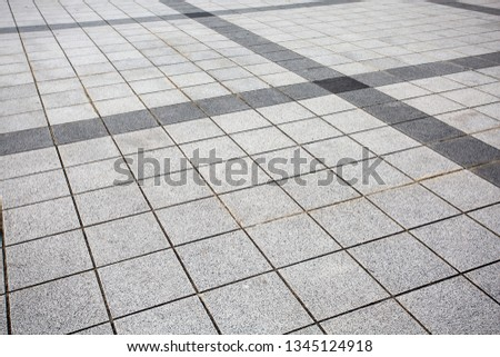The pattern of stone block paving  Background Images and Stock