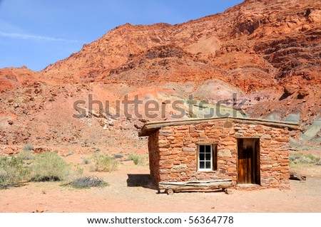 Stone Cabin at Lee's Ferry in Glen Canyon National Recreation Area