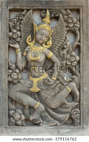 stone carved thai style
