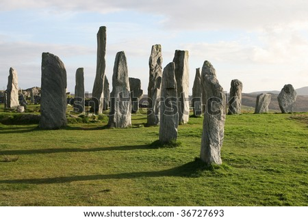 Stone circle at Callanish, Isle of Lewis, Outer Hebrides