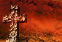 Stone cross braves firestorm