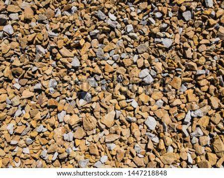 Stone crushed orange shade. Image for background. #1447218848