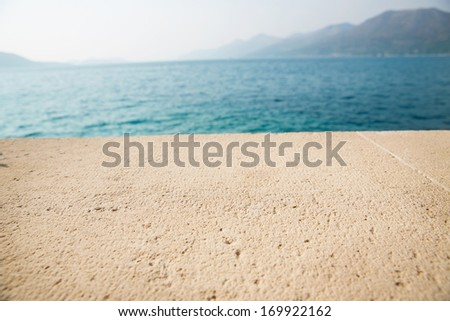 Dinner Table Background stone dinner table background. marine seafood restaurant table