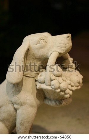 Stone Dog Basket