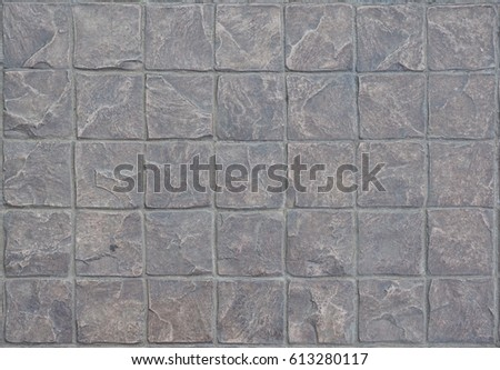 Stone Floor And Texture