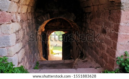 Stone Gate and Stone Stairs #1551883628