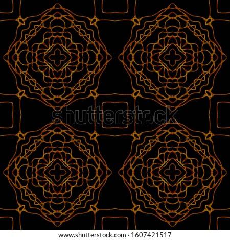 Stone Gold Tile. Abstract Geometry. Seamless Background. Elegant Wallpaper. Mosaic Flower Mosaic Backdrop. Mosaic Design. Holiday Art. Swimwear Print. Denim Navy Retro Lines Art.