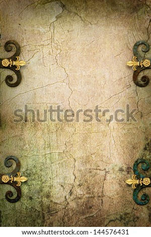 Stone Gothic fantasy medieval background