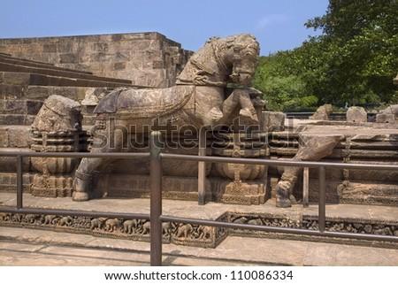 Temple Images Orissa Temple in Konark Orissa