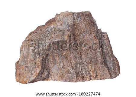 Stone, Isolated on a white background. #180227474